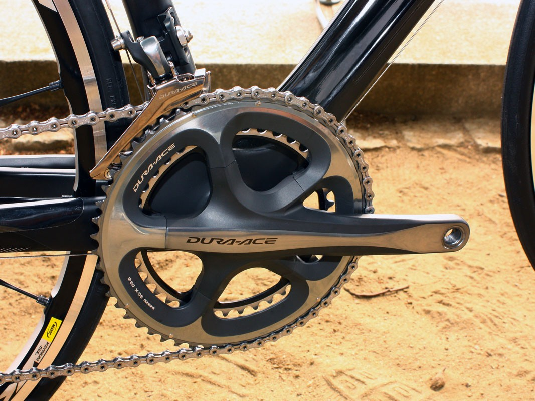 NeilPryde have chosen to stick with well-known Shimano componentry for their initial foray into road bikes