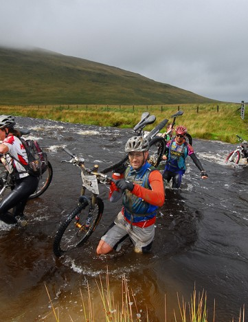 Riders in the 2010 TransWales will face all kinds of obstacles, including river crossings