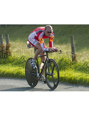 Mark Arnold, 4th helped Pedalrevolution.co.uk home to a team victory