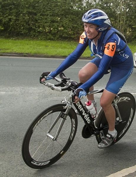 Christine McLean, women's 12hr champion