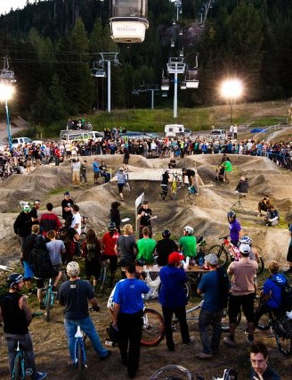 Whistler's new Crystal Viper pump track
