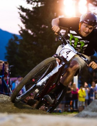 Brendan Fairclough narrowly missed out on the top spot in the Ultimate Pump Track Challenge