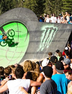 Action from the Monster Energy Slopestyle
