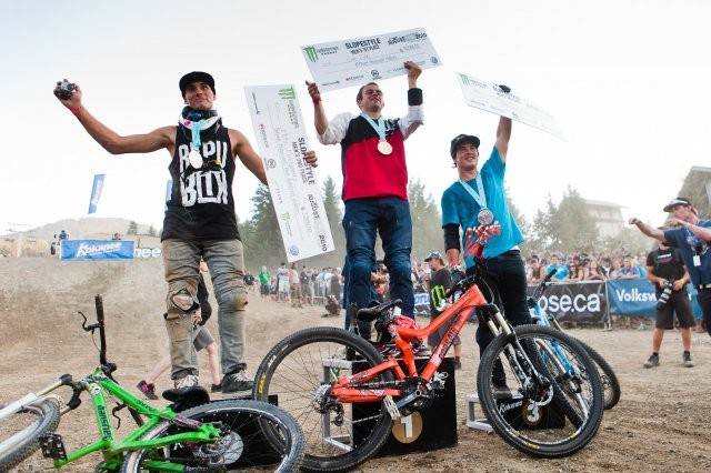 Cam Zink topped the podium ahead of Mike Montgomery and Casey Groves