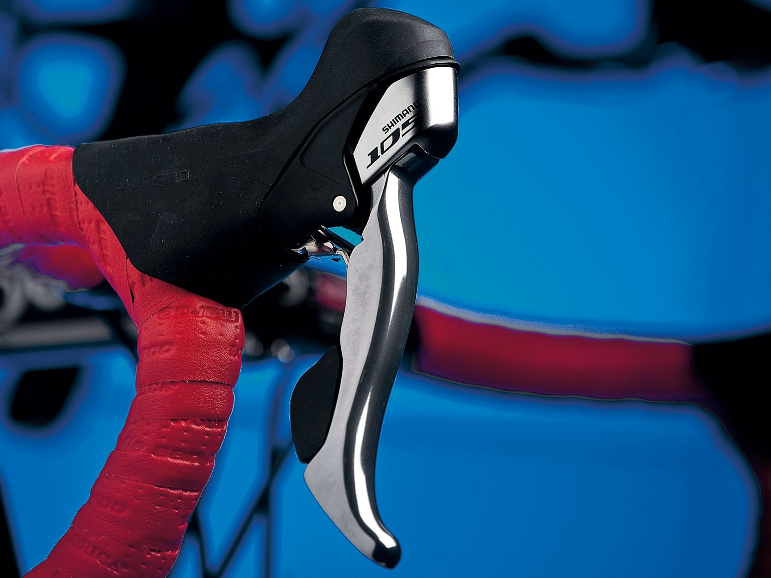 Shimano 105 ST-5700 double shift levers