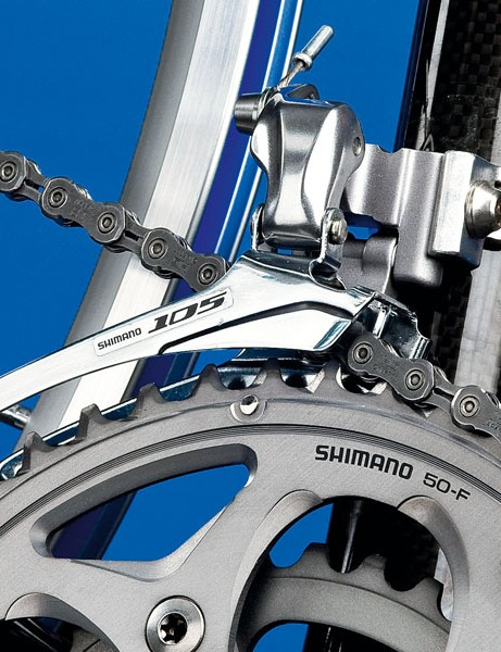 Shimano 105 FD-5700 (double) front mech