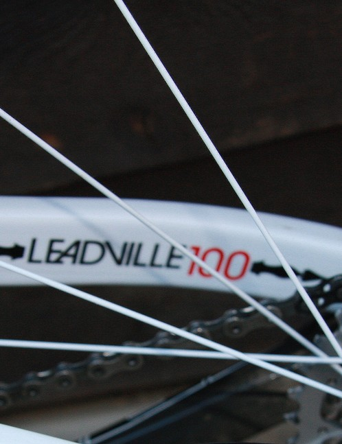 This is a Leadville 100 bike