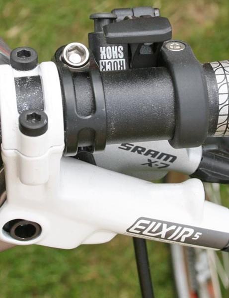 Avid Elixir 5 hydraulic disc brakes and SRAM X7 gearing