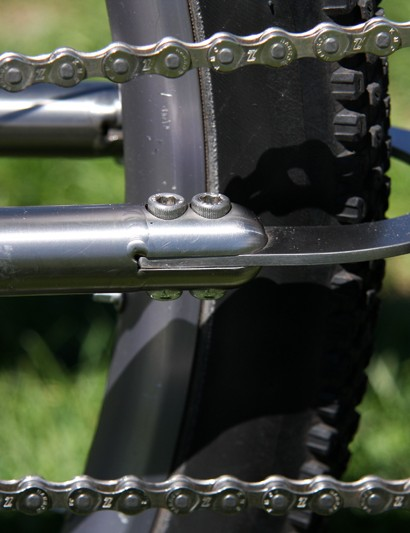 Black Sheep's removable chainstay means the bike will fit in a normal travel case