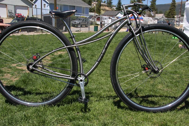 Black Sheep's 36er, built on two unicycle wheels