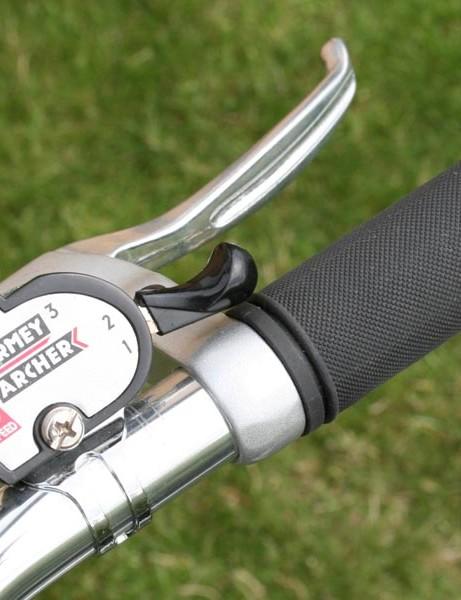 3-speed Sturmey Archer gearing