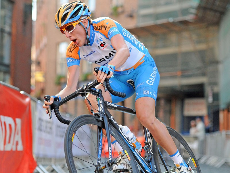 Dan Martin rides during the Tour Series in Dublin this year