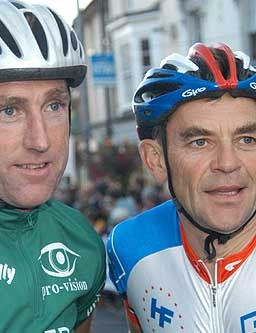 Sean Kelly and Sid Barras, past winners of the Newport Nocturne