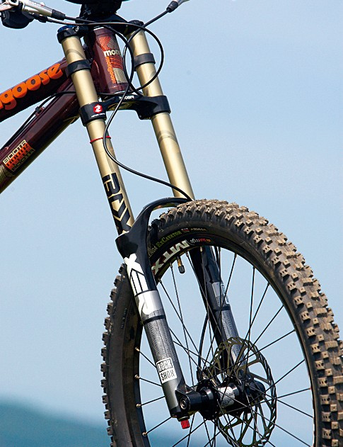 After initial bed-in, the 2010 Boxxer Race fork is a winner