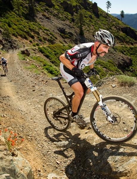 Mark Weir wrestles it up a mountain