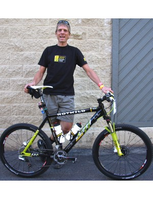 Dave Wiens and his Topeak-Ergon team issue Rotwild R.R2