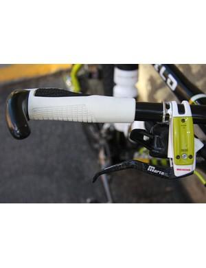Carbon Magura Marta SL Team Edition brake levers provide stopping power
