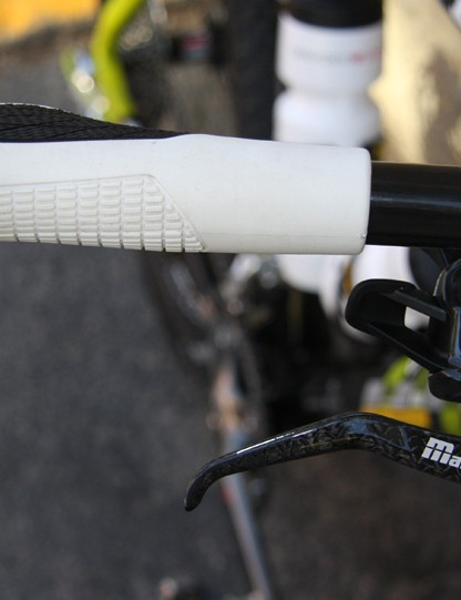Carbon Magura Marta SL Team Edition brake levers provide stopping power