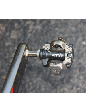 Classic and reliable Shimano XTR pedals