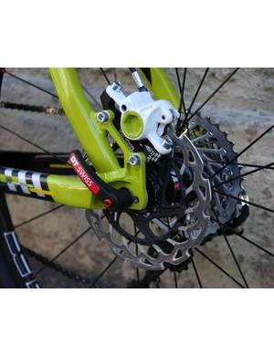 Magura Marta SL Team Edition brake and a SRAM XX 11x36 cassette