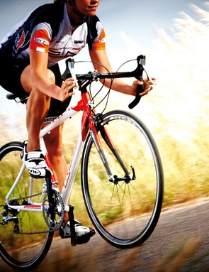 Kinesis have produced a good-looking, fast and responsive frameset just right for racing without any compromise on comfort