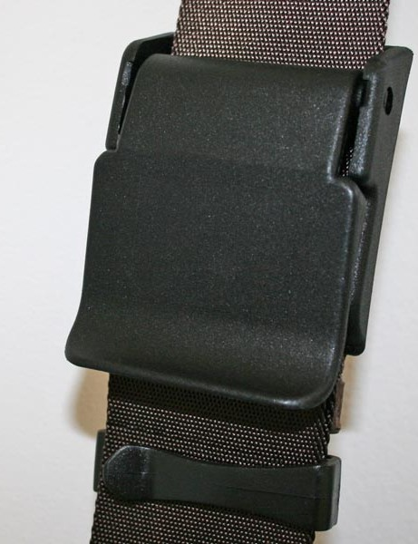 Quick release clasp on the main strap