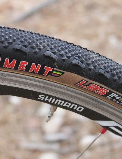 The new LAS file-tread pays homage to Americas largest cyclo-cross race, which also served as the venue for Clément's re-launch in 2009