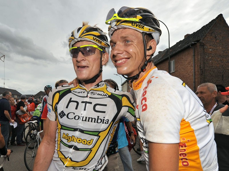Andrei Greipel and Tony Martin will head up the German team at the world championships in October