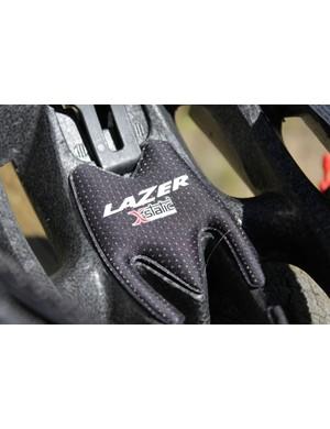 Lazer uses X-Static covered padding
