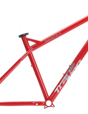 Transition TransAm hardtail frame in red