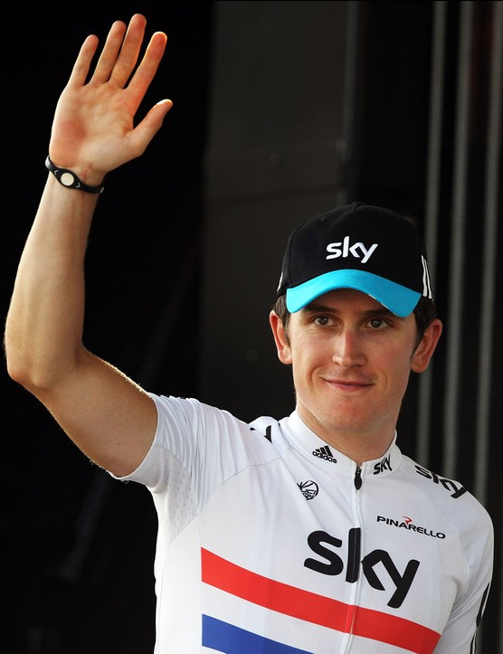 Geraint Thomas is having an excellent season so far