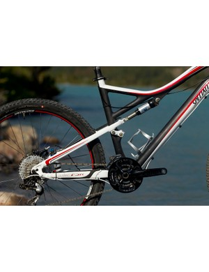 The Specialized Era also has FSR in-line type suspension