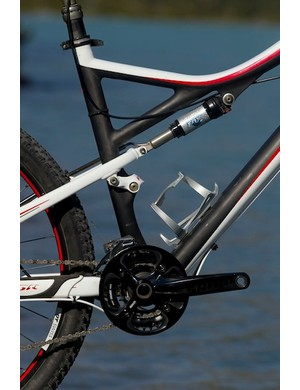 The Specialized Era and Safire bikes both feature plenty of standover clearance, which Specialized says has always been an important selling point among its female customers