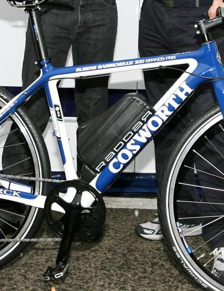 Rubens Barichello's Storck electric bike