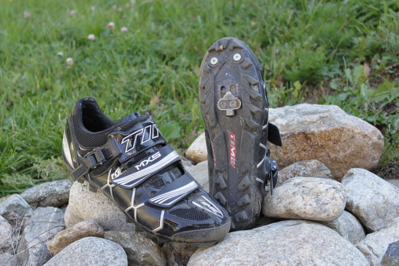 Time's MXS Carbon off-road racing shoe