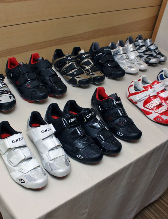 Giro will hit 2011 with a wide range of cycling footwear – and it sounds like the line will grow significantly next year, too