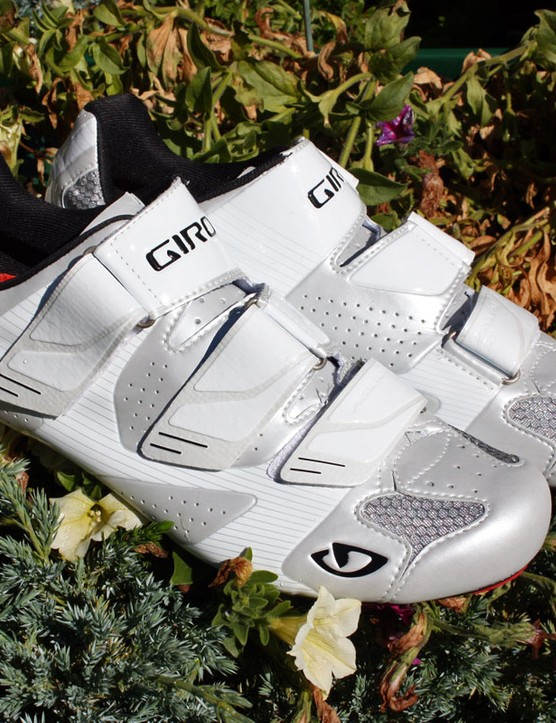 Giro claim their new Prolight SLX road shoes weigh just 205g apiece (size 42)