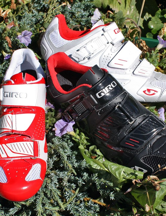 Giro will offer their Factor road shoe in three colour schemes