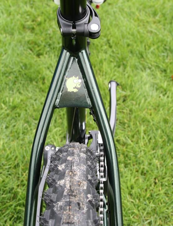 Plenty of tyre clearance
