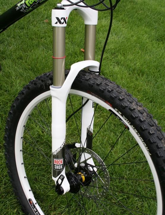 Ragley's Blue Pig X is built for long forks
