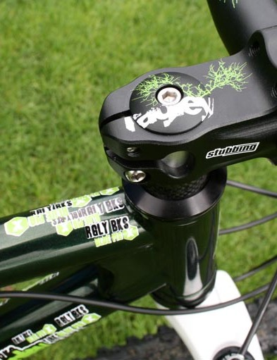 Blue Pig X stem and handlebar combo from Ragley