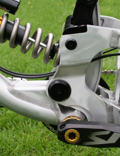 The Scalp will have the option of a Cane Creek rear shock upgrade