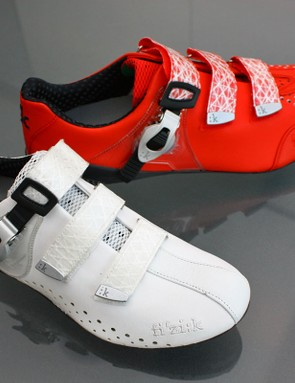 The R3 Donna (front) will come in all-white or black/white while the R3 Uomo will come in white/black or all-red