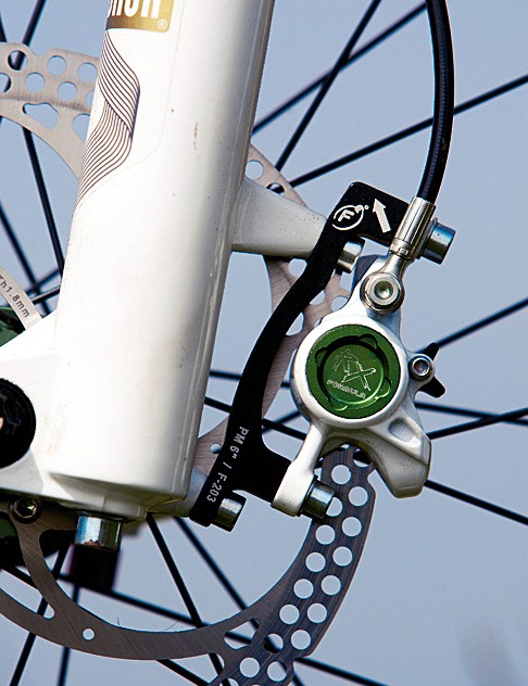 Formula's RX brakes deliver huge power in easily controlled doses