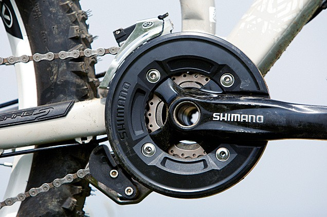 The Froggy offers a good range of gears and effective chain retention