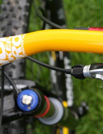 Nukeproof bars on the Snap