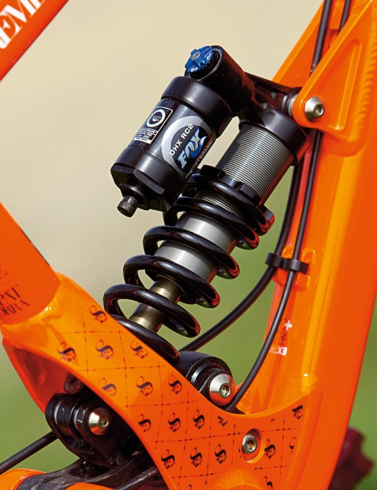 The Fox DHX RC2 shock is a worthy upgrade, increasing performance and versatility