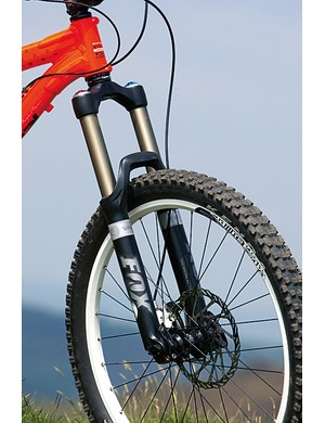 Fox's 36 fork really is at its best with a coil spring inside, like this Van R model