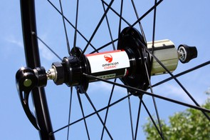 Our American Classic Road 205 rear hub ran smoothly and quietly during the test period
