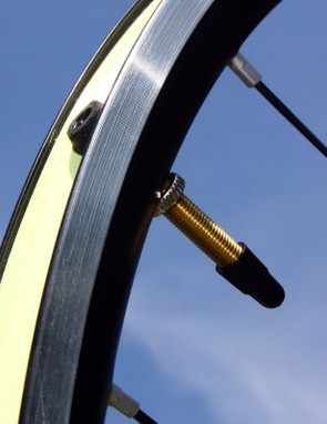 Tubeless valve stems are included with the wheels, along with sub-100g skewers and a padded double wheel bag